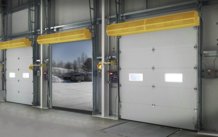 commercial hvac air curtains